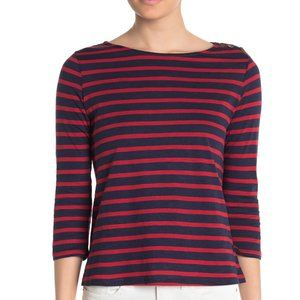 William Rast Lynette Striped  Slub T-Shirt